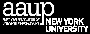 NYU AAUP logo